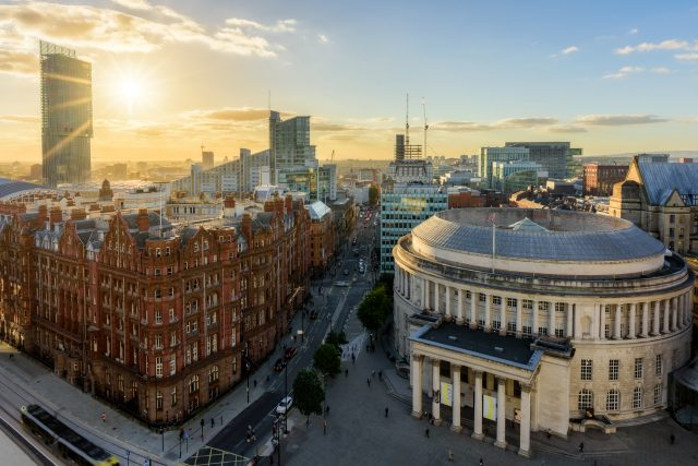 Cityscape from No1 Peters Square, Manchester © Marketing Manchester and Rich J Jones