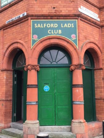 Manchester Music Story Tour - Salford Lads Club