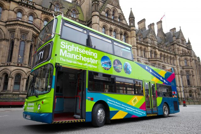 Sightseeing Manchester Hop-on Hop-off Bus